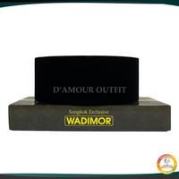 Peci Songkok Kopiah Wadimor AC Hitam Polos Termurah & Terlengkap - Tinggi Sembilan, No 6