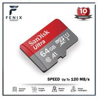 SanDisk Ultra MicroSD 64GB A1 120MB/s microSDXC UHS -I micro sd