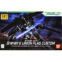 HG Union Flag Graham Aker Bandai HGOO 07 Model kit Gunpla 1/144 Gundam