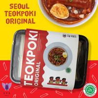 Halal Seoul Teokpoki original Tteokbokki Tokkpoki / Tokpokki / Topokki - Original 450 gr