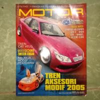 Majalah motor Tren aksesoris modif 2005
