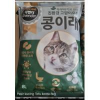 Pasir Kucing Tofu Kong Irae 8liter Khusus ekspedisi kargo