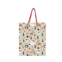 Paper Bag Natal Christmas Time - Penguin