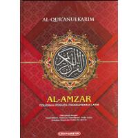 Promo Al qur an murah terjemah perkata Al amzar ukuran A4