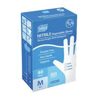 Sensi Ntrile 40 Gloves Sarung Tangan Medis Nitrile Powder Free