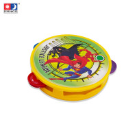 IMAGE TOYS mainan Musical Tambourine 14CM