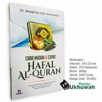 Cara Mudah Dan CepatHafal Al Quran
