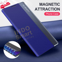 Vivo V20 Smart Clear View Flip Case Digital Standing Sarung Book Cover