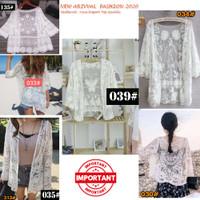 kardigan lace wanita Import |Outer korea brukat Import | MG 030 - 033