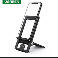 Ugreen Stand Phone Holder Foldable for Hp Tablet Universal Original - BLACK-LIPAT