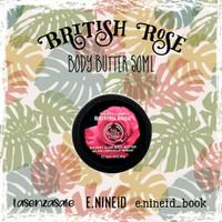 The Body Shop Original 100% - Body Butter British Rose 50ml