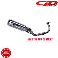 Knalpot Racing Motor CLD Racing Yamaha Mio Sporty Nouvo New C2 Series