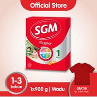 SGM Eksplor 1 Plus Susu Pertumbuhan 1-3 Thn Madu 900g