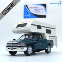 Kinsmart Dodge Ram Truck Camper - Hijau