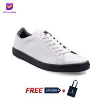 Sepatu Pria Sneakers Footstep Footwear - Beta White