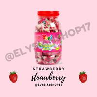 Permen Yupi Heart Gummy Kiss Strawberry 1 Toples