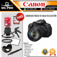 CANON EOS 700D Kit 18-135mm f3.5-5.6 IS STM Camera DSLR