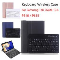 Keyboard Samsung Tab S6 LITE 10.4 P610 P615 Bluetooth Flip Case Cover