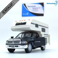 Kinsmart Dodge Ram Truck Camper - Hitam
