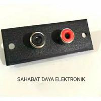 SOCKET RCA 2 PIN