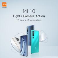 Xiaomi Mi 10 8/256 Ram 8GB Internal 256GB Garansi Resmi