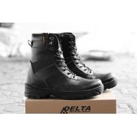 COD !! Sepatu Pria PDL Safety Boots King NINJA Sepatu Boots Ujung Besi