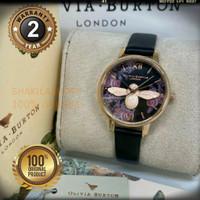 Jam Tangan Olivia Burton 3D 30mm Full Set Original Garansi 2Th