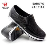 Sepatu Karet Pria - Sepatu Pantofel Karet Pria Sankyo SAF 1146 - 40