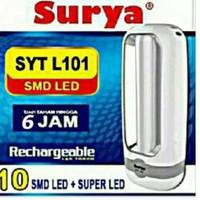 SURYA SYT L101 Lampu Senter Led Emergency Darurat Rechargeable