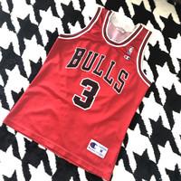 Jersey basket Chicago Bulls 2001 Chandler Champion Original