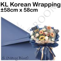 20 Lembar KL Korean Wrapping S - Cellophane - Wrapping Bouquet