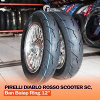 PIRELLI DIABLO ROSSO SCOOTER SC 100/90-12 120/80-12 Ban Vespa Scoopy