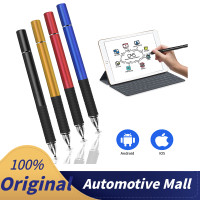 2 in 1 Capacitive Touch Screen Stylus Pen iPhone iPad Tablet PC - Hitam