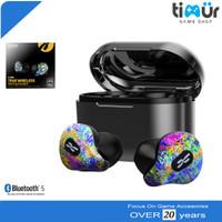 Plextone 4Life TWS Gaming Earphone Bluetooth Headset AirDots Hijau