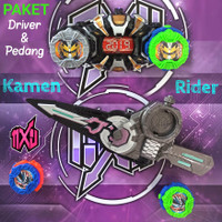 PAKET SABUK & PEDANG KAMEN RIDER ZI-O WEAPON LIGHT & SOUND EFFECT