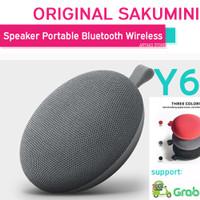 Speaker Bluetooth Portable Sakumini Y6 Wireless Original Garansi Resmi