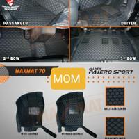 Karpet mangkok maxmat 7D Otoproject All New Pajero Sport Full Bagasi