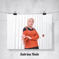Sabrina Rajut Sweater rajut Rajut wanita
