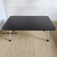 meja lipat polos warna