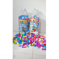 Block Happy Time BLOCKS EDUCATION isi 918 pcs - Mainan Balok Anak Blok