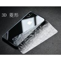 IPHONE SE 2020 BACK SKIN DIAMOND 3D ANTI GORES BELAKANG
