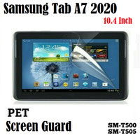 Samsung Tab A7 2020 10.4 inch PET Screen Guard Protector Anti Gores