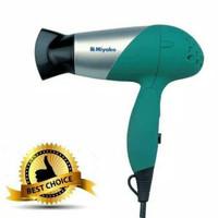 Miyako Hair Dryer Pengering Rambut HD550G HD 550G 400Watt - Biru