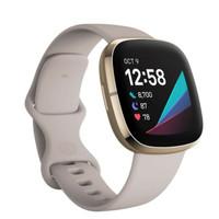 FITBIT SENSE - Advanced Health Smartwatch - Lunar White