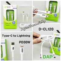 DAP D-CL120 Kabel Data Type-C to Lightning PD30W Cable 1.2m QC3.0 3A