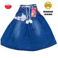 Pakaian/Baju anak perempuan wanita/bawahan Rok jeans panjang terbaru
