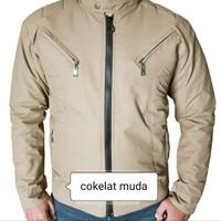 Jaket pria harian Jacket Motor|tahan angin|anti air