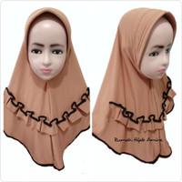 Jilbab Hijab Instan Anak Harian Spandek SOFIYA