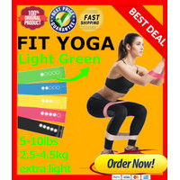 RESISTANCE BAND 5 IN 1 / RUBBER BAND YOGA FITNESS GYM STRECHING CORE