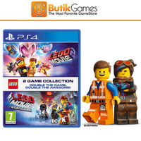 LEGO Movie Game Collection PS4 Lego Movie PS4 & Lego Movie 2 PS4